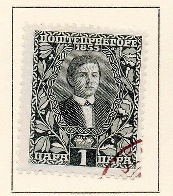 Montenegro 1919 Early Issue Fine Used 1p. 146819