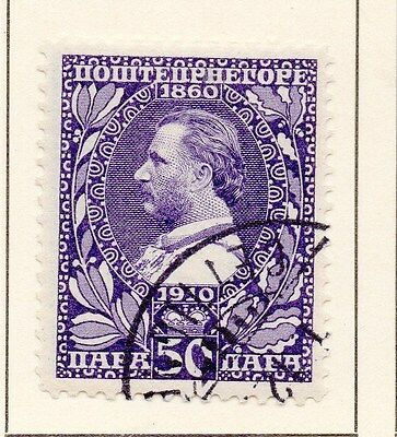 Montenegro 1919 Early Issue Fine Used 50p. 146827