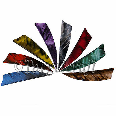 Arrow fletching feathers Gateway Tre (camo) RIGHT wing shield 3 or 4 inch