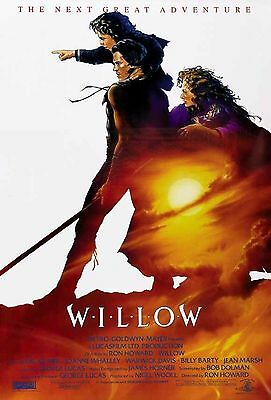 WILLOW 1988 Val Kilmer, Joanne Whalley US 1-SHEET POSTER