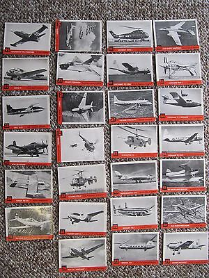 VERY RARE! 1950's Topps Jets (air craft) Cards. Spotter Series TWENTY SEVEN Diff