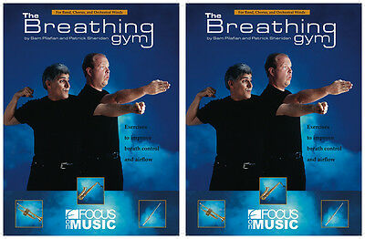 The Breathing Gym FOC005DS Band or Chorus Exercise Book & DVD Pilafian Sheridan