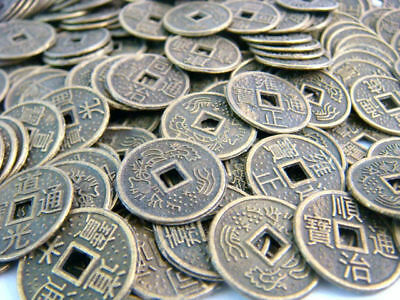 Feng shui Wholesale 1000PCS Fengshui I Ching Coins Dia:1CM Y1045