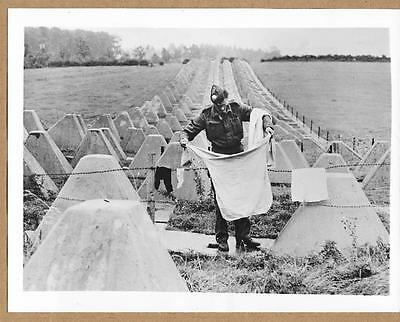 1941 Boast We Will Hang Our Washing on the Siegfried Line Comes True 1944 Photo