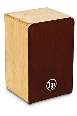 NEW - Genuine Latin Percussion LP Americana Peruvian Style Cajon - LP1439