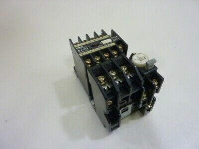 Fuji Electric Magnetic Contactor SJ-OG Used #63761