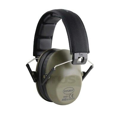 High Nrr Earmuff Hearing Protection Noise Reduction Safety Work Ansi Low Profile