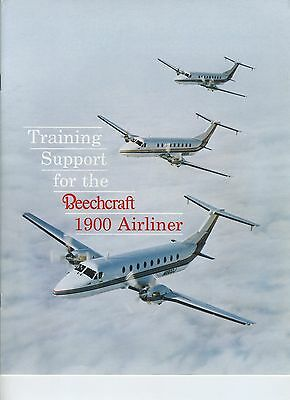 (51) Brochure Training Support for the BEECHCRAFT 1900 AIRLINER