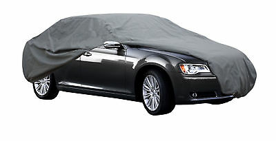 High Quality Waterproof Car Cover Outdoor Rain Uv Breathable Large Size L Grey
