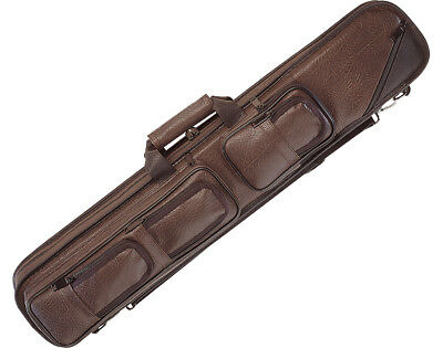 Lucasi LC5 4x8 Brown Pool/Billiard Soft Cue Case NEW!!!