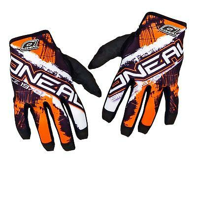 ONeal Jump MX Handschuhe Shocker Orange DH MTB Moto Cross Mountainbike Enduro