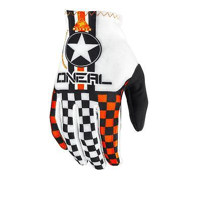 ONeal Matrix Handschuhe Orange DH MTB FR Motocross BMX Mountainbike Cross WOW