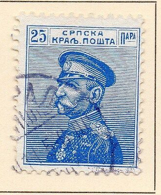 Serbia 1911 Early Issue Fine Used 25p. 147576