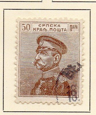 Serbia 1911 Early Issue Fine Used 50p. 147578