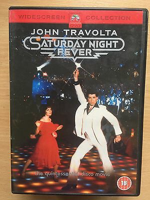 John Travolta SATURDAY NIGHT FEVER ~ 1977 Classic Dance / Disco Drama UK DVD