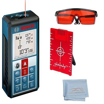 Bosch GLM100 C Laser Distance Meter Bluetooth, Android, iOS With Accessory Kit