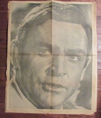 1960's Chicago's American Picture Poster Parade SEAN CONNERY VG+ 24x30