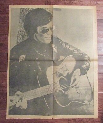 1960's Chicago's American Picture Poster Parade PETER FONDA w/ Guitar VG+ 24x30