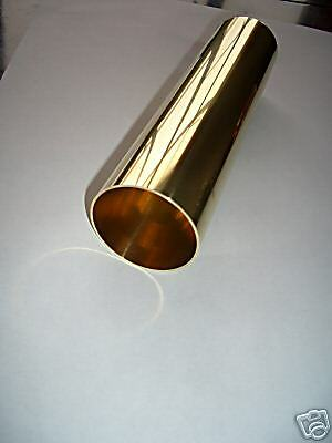 "2"" Dia. Polished Brass Tubing .032 wall Thickness"