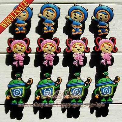 Lots of Team Umizoomi Shoe Charms/Shoe Buckle Fit for Jibz Bracelet Band,Gifts
