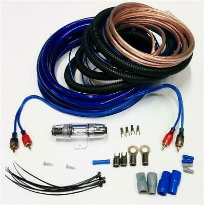 Car Audio 6X9 Speakers Amp Wiring Kit 1500 Watt Upgrade Power Cables Leads