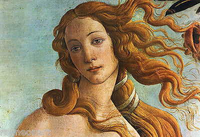 The Birth Of Venus Detail by Sandro Botticelli Giclee Fine Art Canvas Print