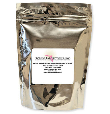 BUY 3 GET 1 FREE ! 100% Food Grade Diatomaceous Earth 2 Lbs.FASTEST DELIVERY!