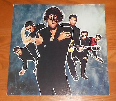 INXS Poster 2-Sided Flat Square Vintage Promo 12x12