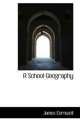 School Geography by James Cornwell (English) Paperback Book Free Shipping!