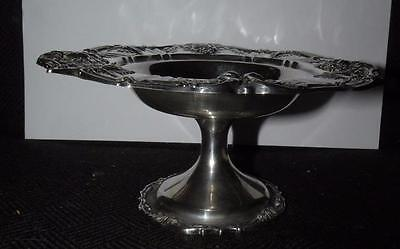 "Vintage Francis Ist Sterling Silver Compote # X566 7"" D 3.25"" Tall"
