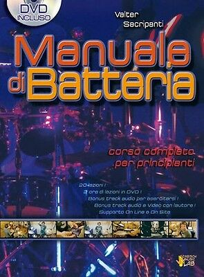 Manuale di Batteria; Book, DVD (Region 0)- Drums, Italian - 9788850715947