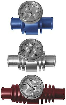 ModQuad - TEMP-3BL - 3in. Cooler Inline Temp Gauge, Blue~