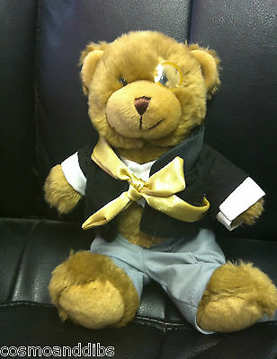 The Teddy Bear Collection Carl The Conductor