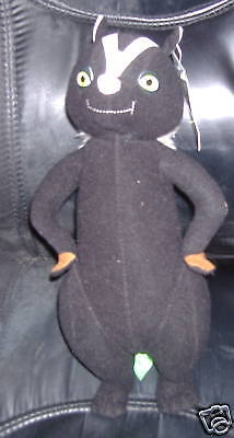 Over The Hedge Dreamworks Stella Skunk Plush Toy