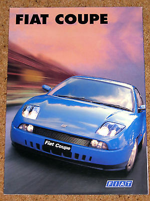 1996 FIAT COUPE Sales Brochure - 20V & 20V Turbo