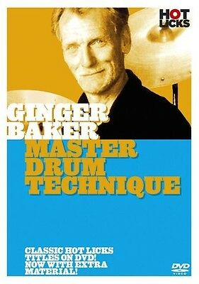 GINGER BAKER MASTER DRUM TECHNQ DVD; Baker, Ginger, Default setting - HOT180