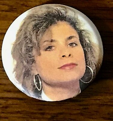 PAULA ABDUL BUTTON   1 1/2 inch   NEW!  ROCK & ROLL!