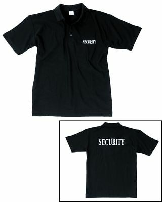 SECURITY POLOSHIRT SHIRT POLO mit Security Druck S-3XL