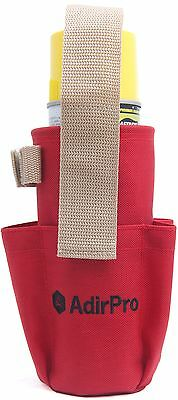 Spray Can Holder with Pockets, Surveying, Seco, Sokkia, Topcon, Leica - Set of 6