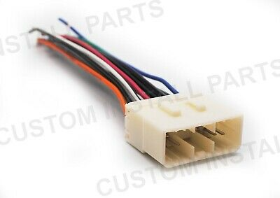RADIO WIRING HARNESS Adapter for Aftermarket Radio #8901 ... on aftermarket stereo adapter box, aftermarket engine harness, jvc radio harness, 2012 dodge ram radio harness, aftermarket stereo color codes, aftermarket wire harness, aftermarket radio with navigation, aftermarket radio antenna, aftermarket radio connectors, stereo harness,