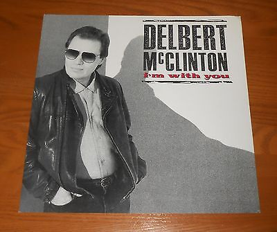 Delbert McClinton I'm With You Poster 2-Sided Flat Square Promo 12x12 RARE