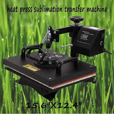 Unique swing-away Heat Press Photo T-shirt Sublimation Transfer Machine 0-220℃