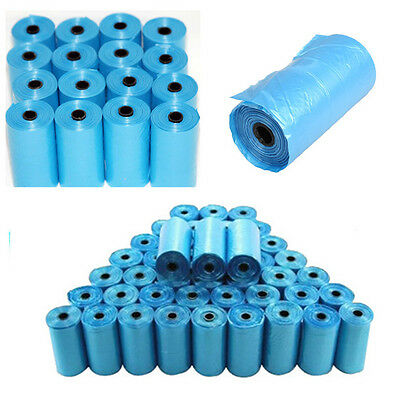 20 Rolls Portable 400 Dog Pet Waste Poop Poo Refill Core Pick Up Clean-Up Bags V