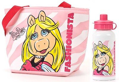 The Muppets - MISS PIGGY ISOLIERTE LUNCHPAKET & ALUMINIUM TRINKFLASCHE