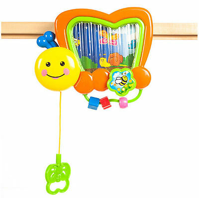 Butterfly Music Box Baby Toy with Rolling Rotary Screen