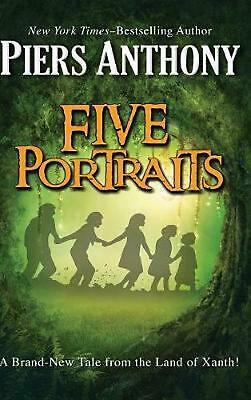 Five Portraits by Piers Anthony (English) Hardcover Book Free Shipping!