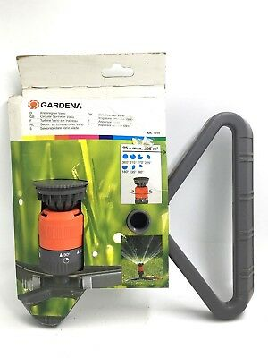 Gardena Vario Circular Garden Water Sprinkler with Sled Base 1948-20