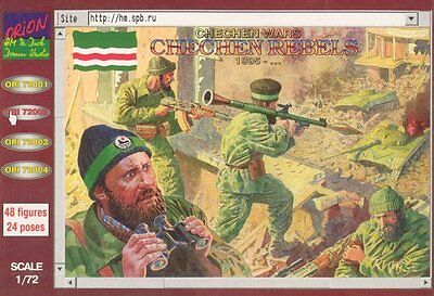 Orion 1/72 72002 Chechen Wars Chechen Rebels Resisters