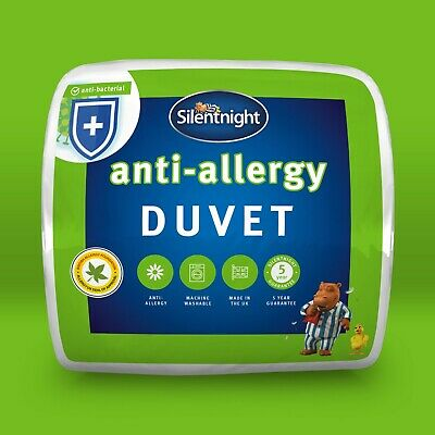 Silentnight Anti Allergy Duvet / Quilt - 7.5 Tog - Single Double or King Size