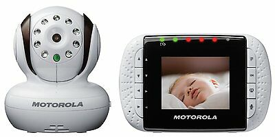 Motorola MBP33 Wireless Video Baby Monitor with Infrared Night Vision and Zoom